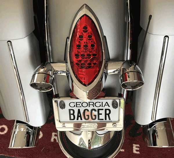 Indian motorcycle rear custom turn signals