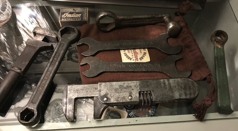 My Indian Motocycle tool collection