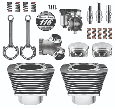 Thunder Stroke 116 Stage 3 Big Bore Kit