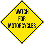 Watch for motorcycles - be safe - Indian Motorcycle