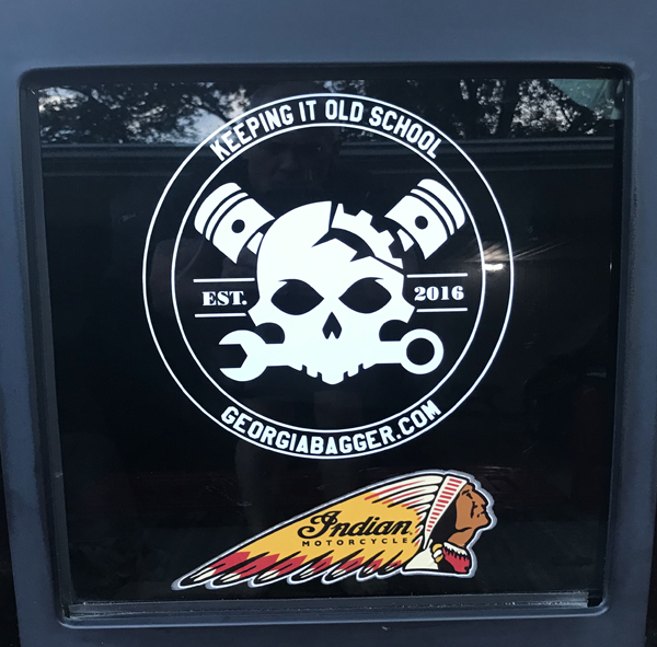 GeorgiaBagger.com Decal